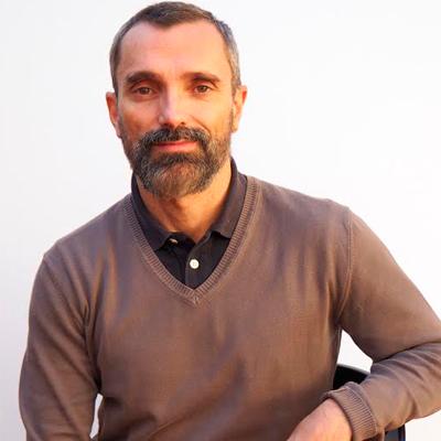 Atelier d'Agustín Garmendia, de la maison d'édition Difusión